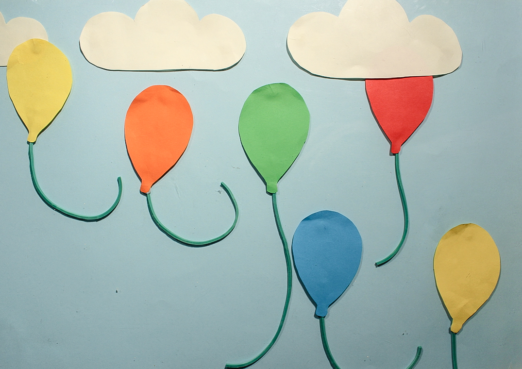 Balloons Stop Motion Animation