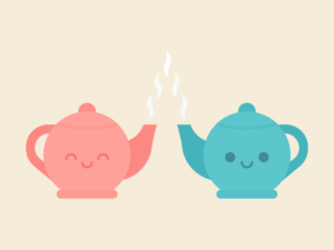 Cute Kawaii Teapots