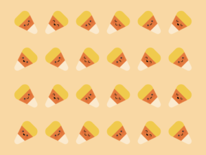 Cute Kawaii Candy Corn