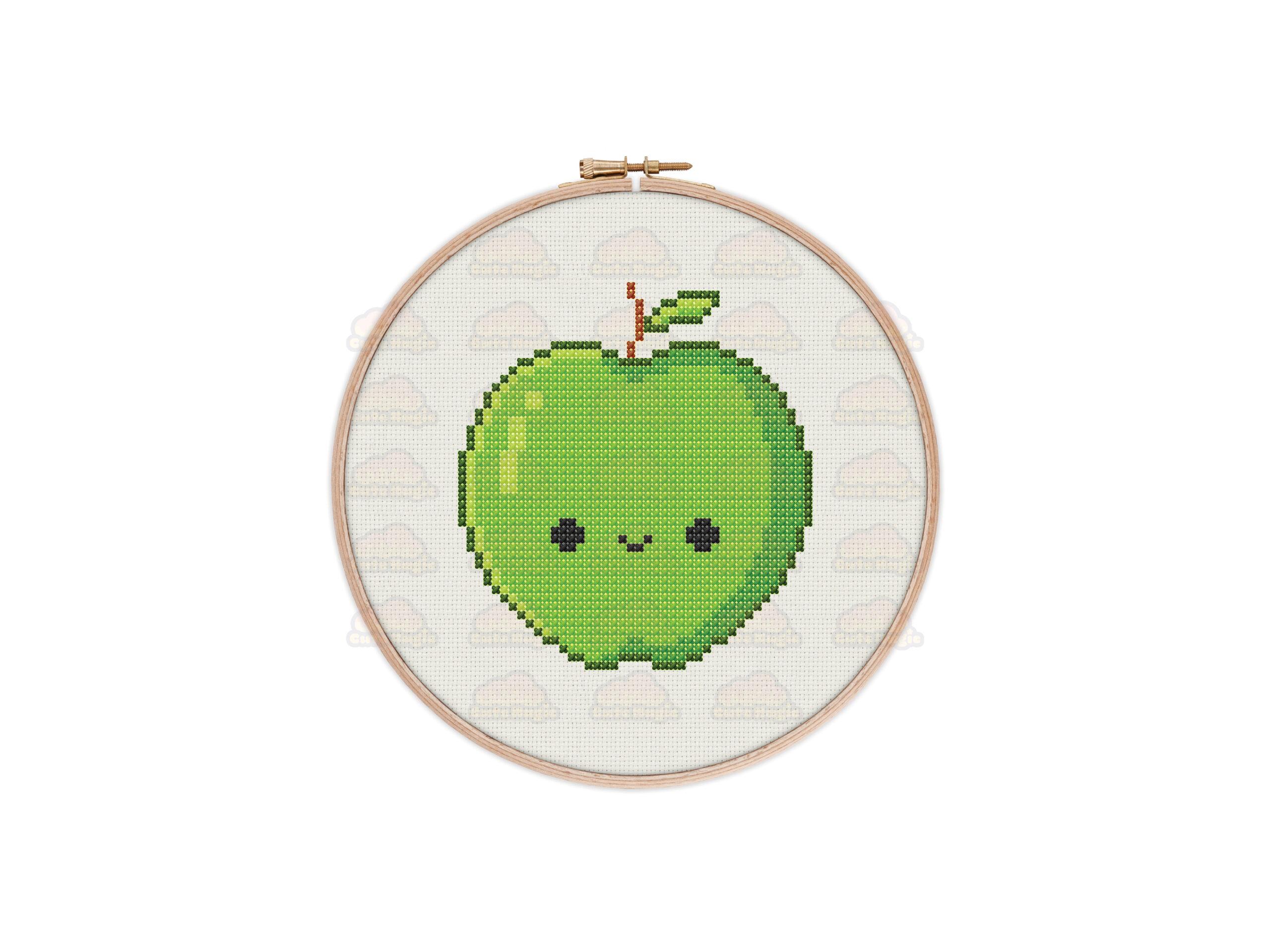 Apples Cross Stitch Pattern