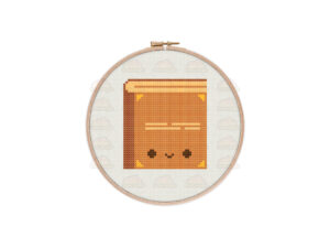 Book Cross Stitch Pattern