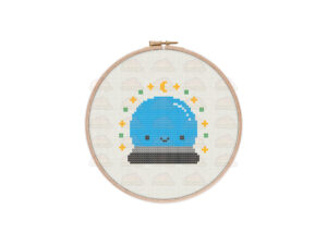 Crystal Ball Cross Stitch Pattern