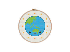Earth Cross Stitch Pattern