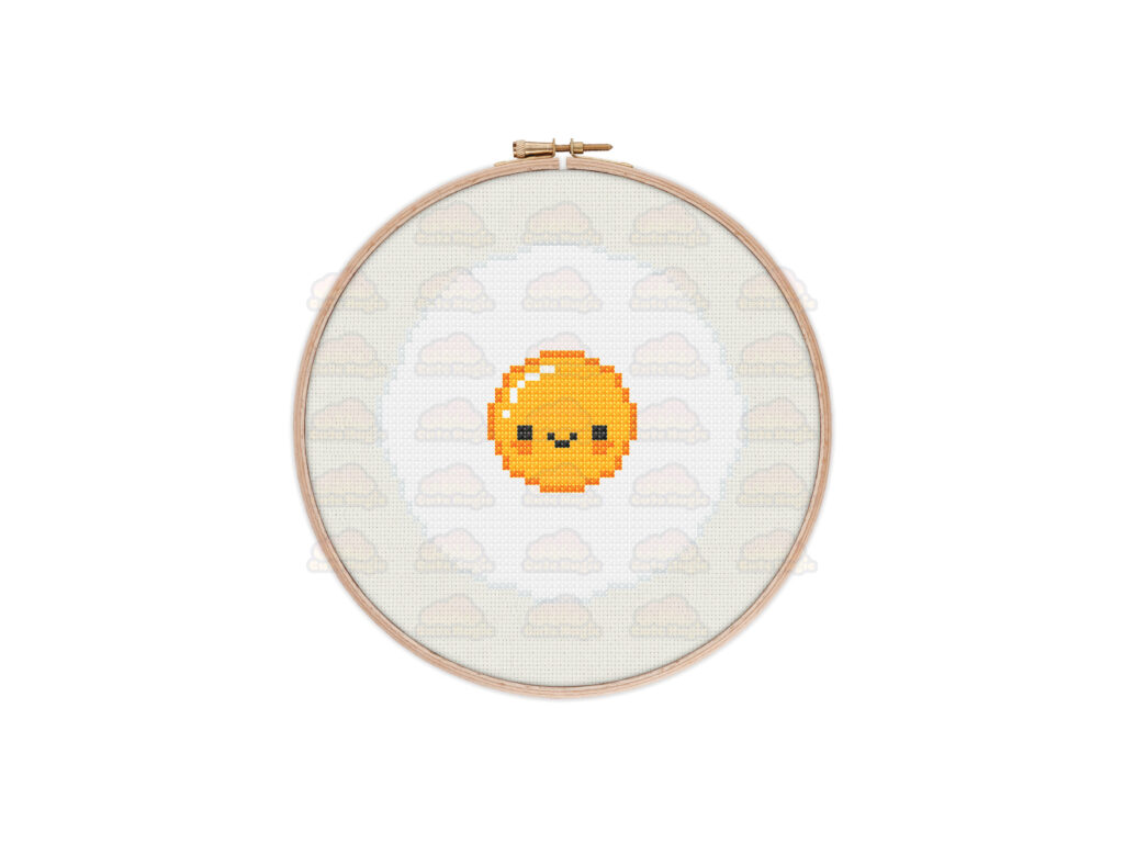 Egg Cross Stitch Pattern