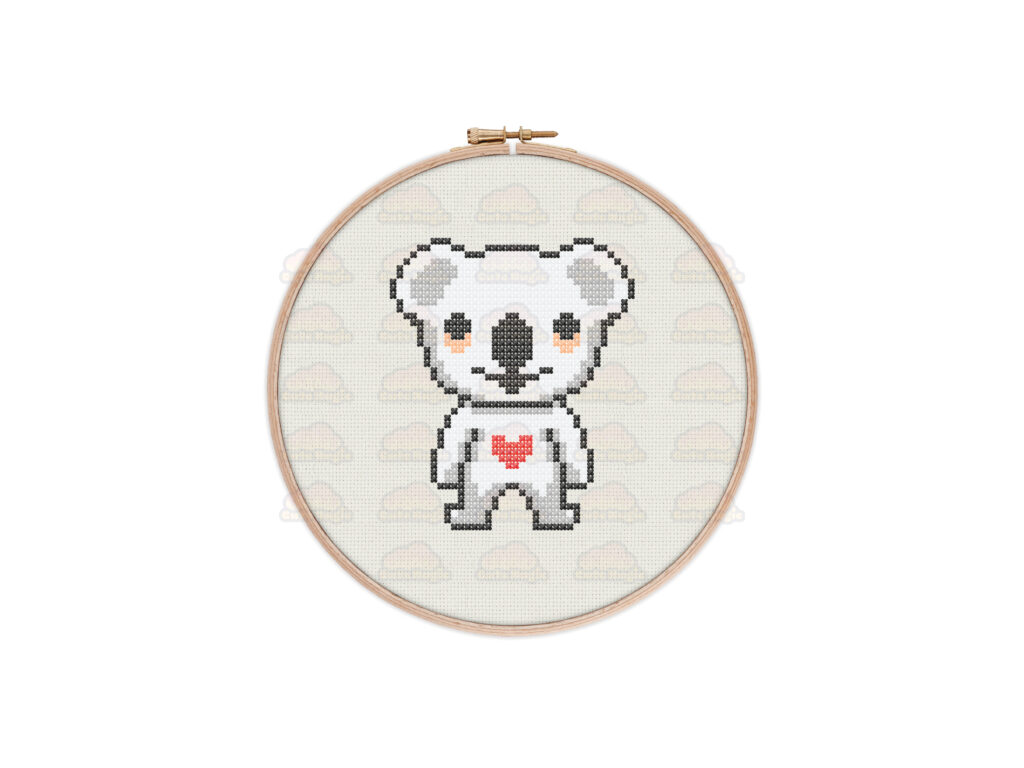 Koala Cross Stitch Pattern