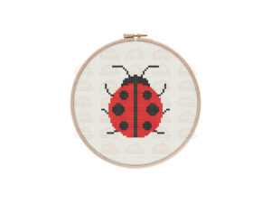 Ladybug Cross Stitch Pattern
