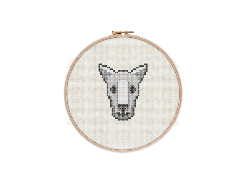 Kangaroo Cross Stitch Pattern
