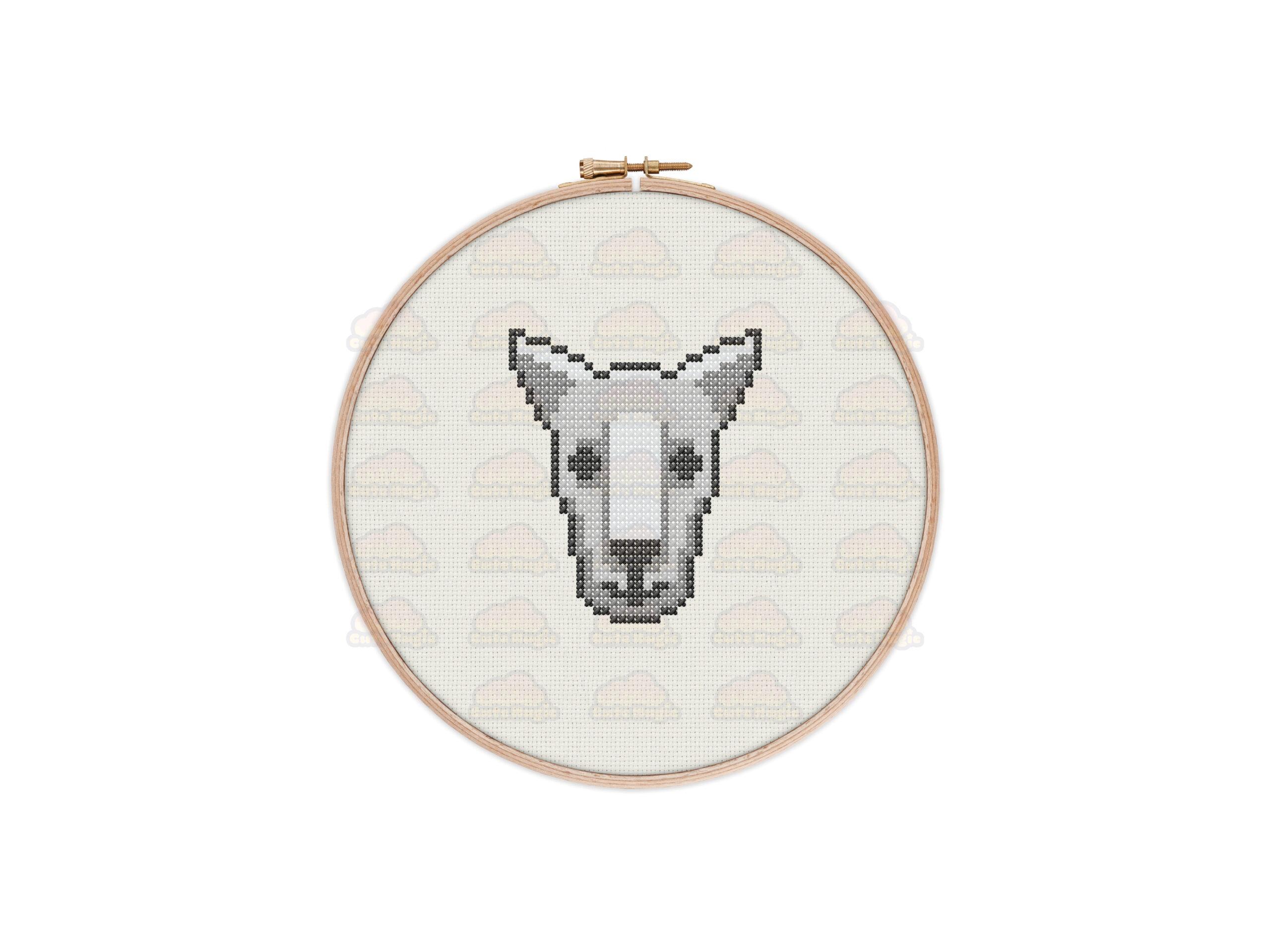 Kangaroo Cross Stitch Pattern