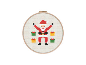 Santa Claus Cross Stitch Pattern