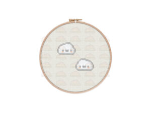 Clouds Cross Stitch Pattern