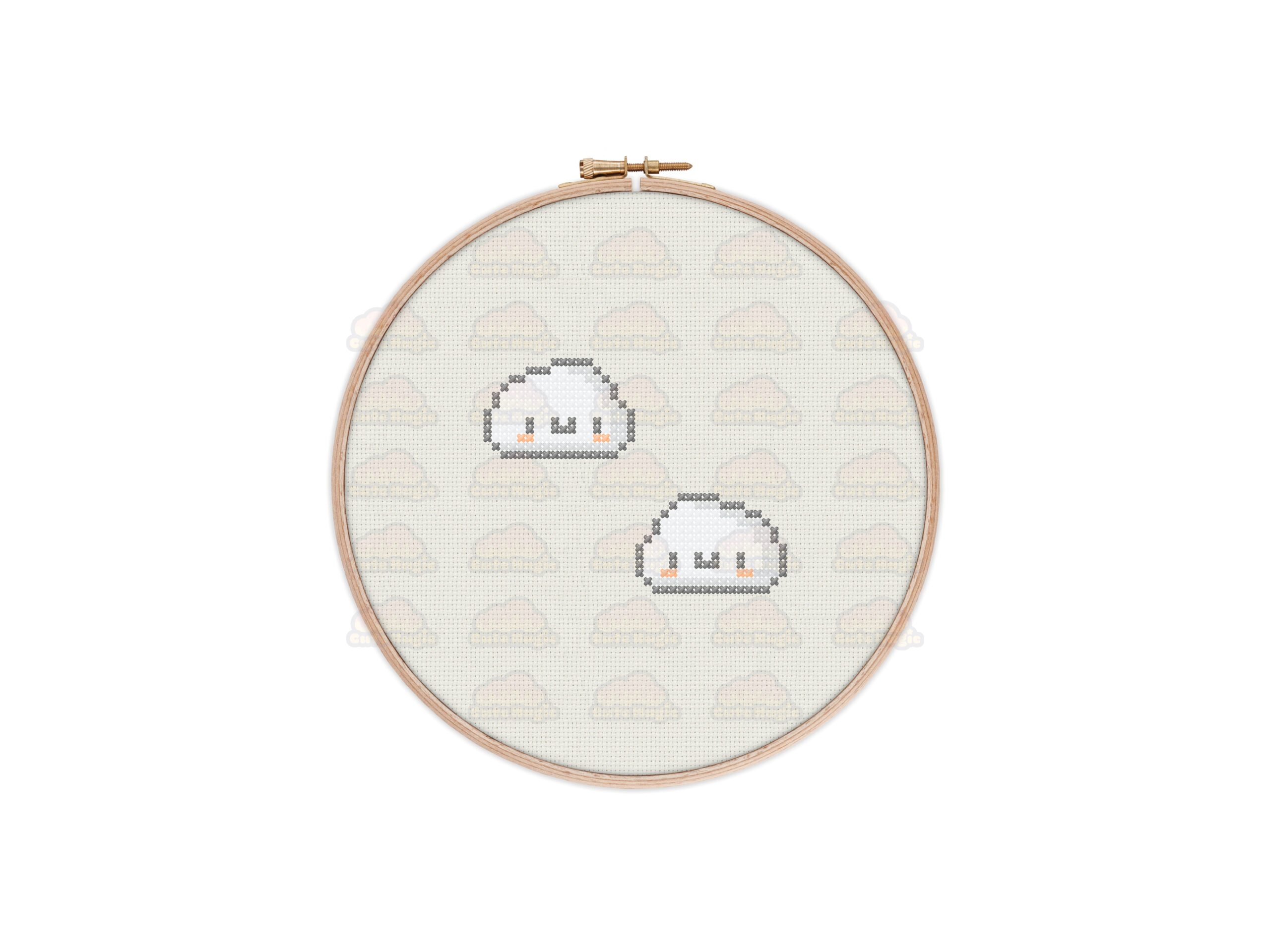 Clouds Cross Stitch Pattern