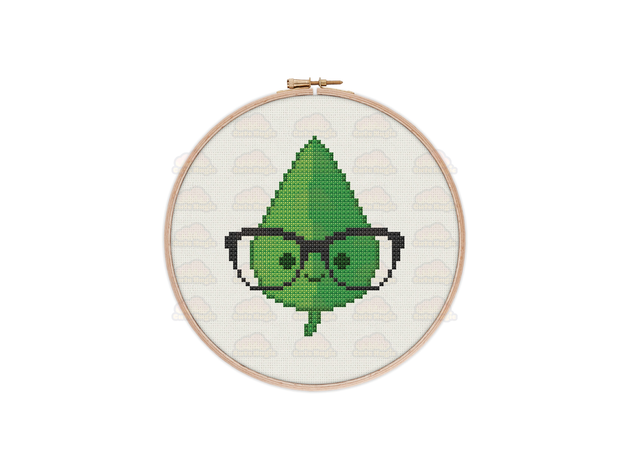 Leaf Cross Stitch Pattern