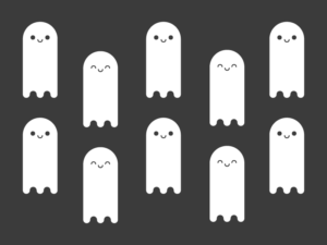Cute Kawaii Ghosts