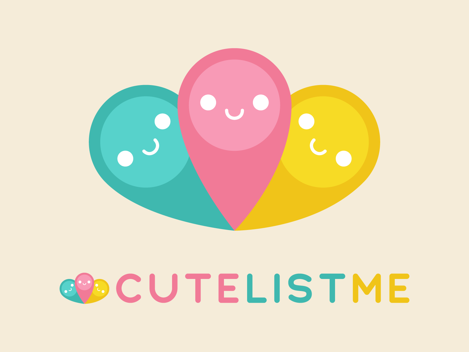 Cute List Me Logo & Website