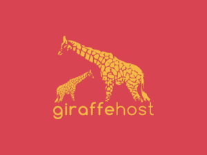 Giraffe Host Logo & Website