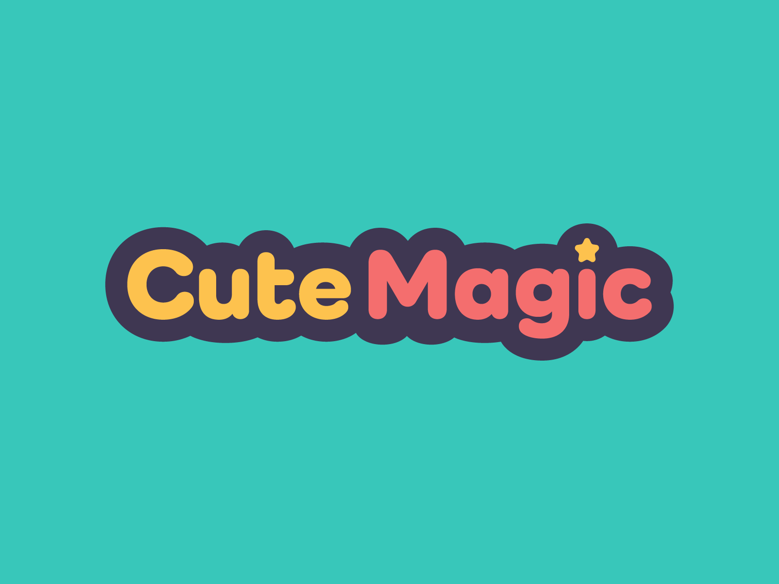 Cute Magic Logo & Website Design