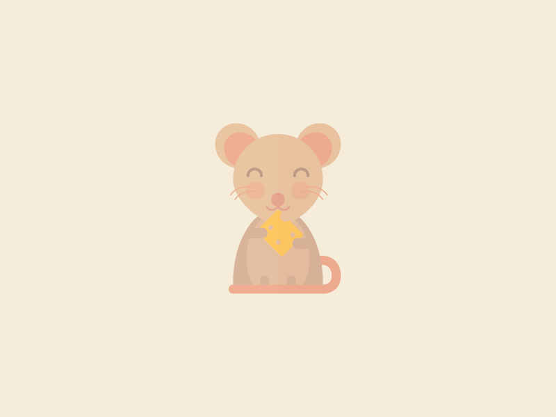 Cute Kawaii Mouse
