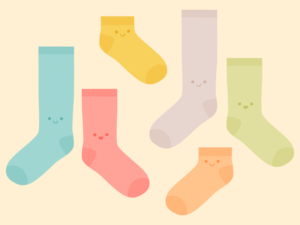 Cute Kawaii Odd Socks