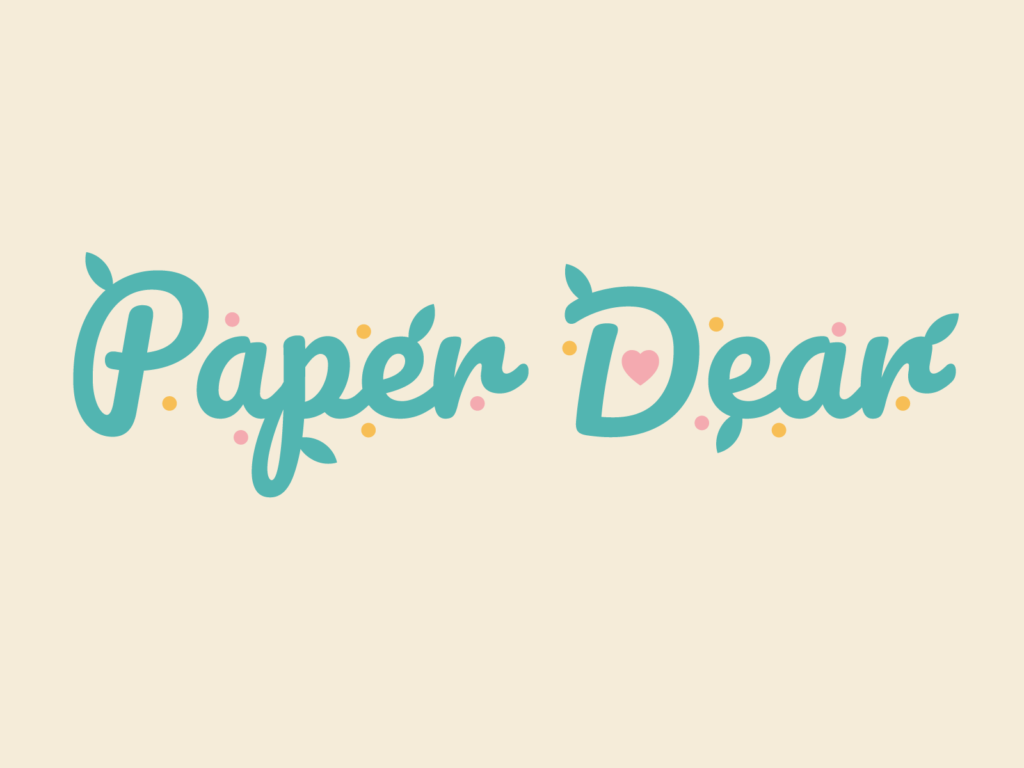 Paper Dear Logo & Website