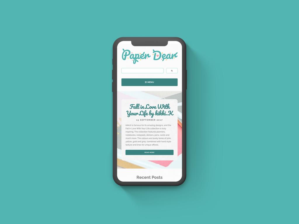 Paper Dear Logo & Website