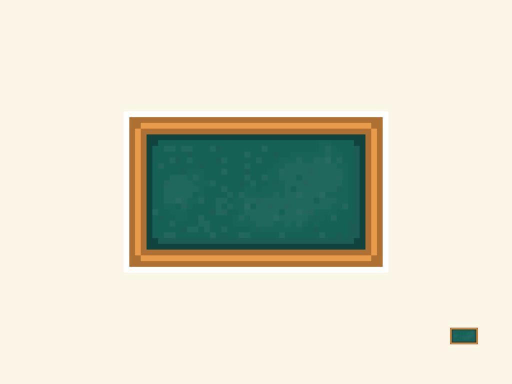 Blackboard Pixel