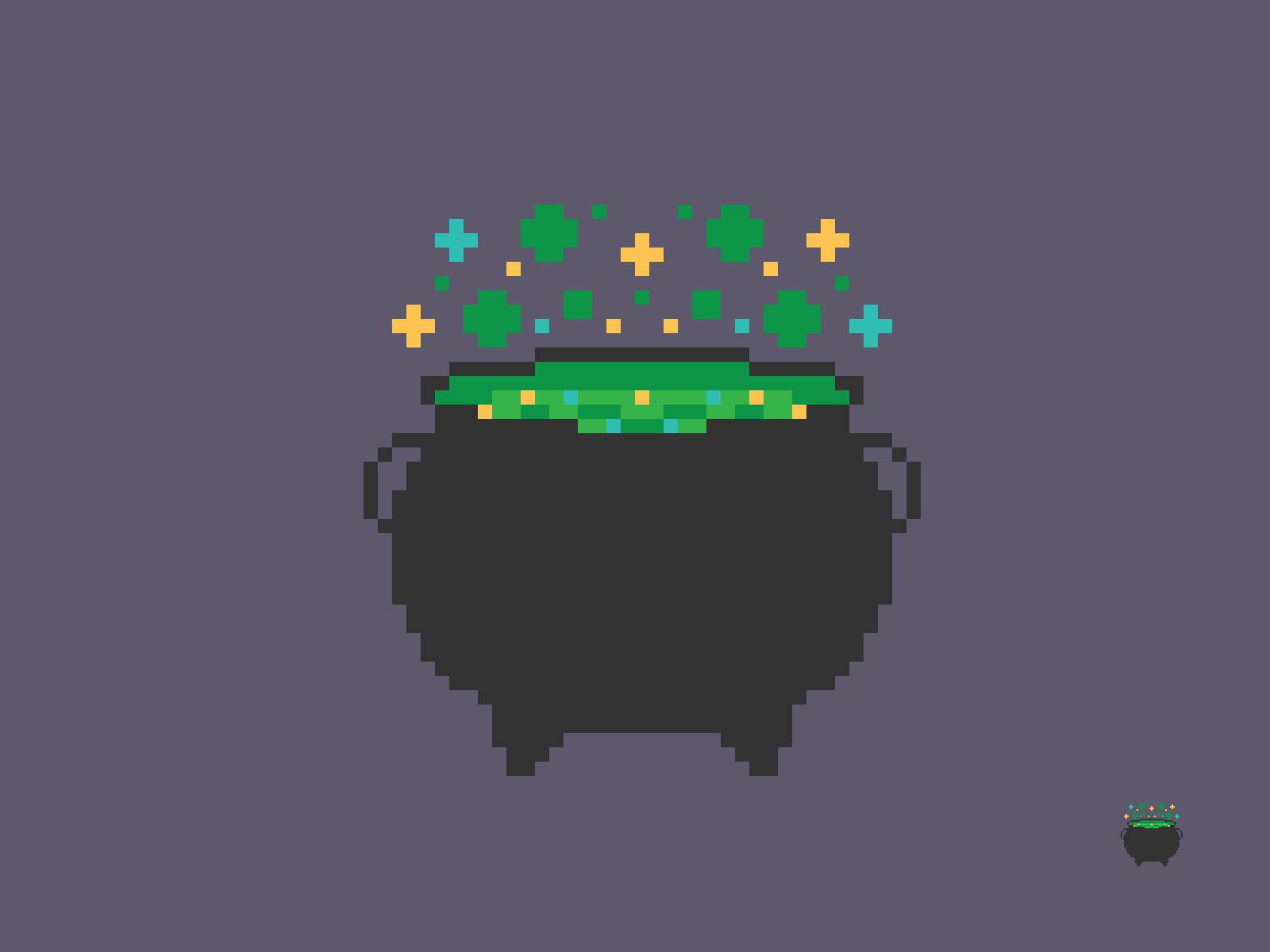 Cauldron Pixel