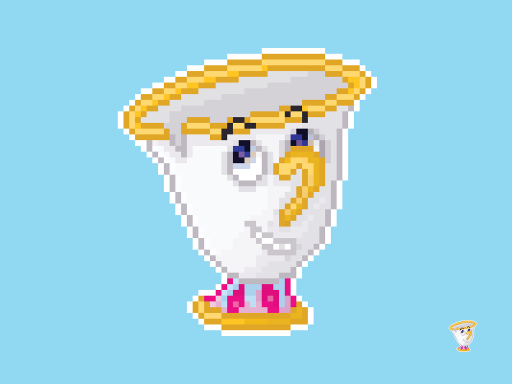Chip (Beauty and the Beast) Pixel