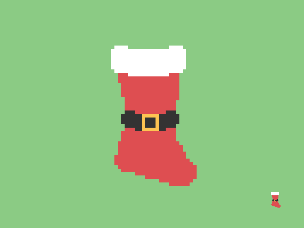 Christmas Stocking Pixel