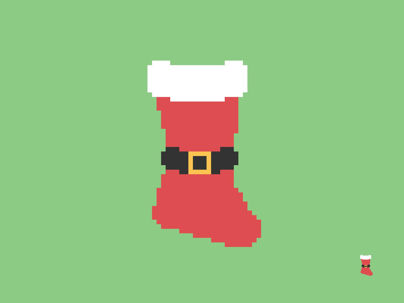 Christmas Stocking Pixel
