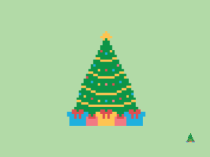 Christmas Tree Pixel