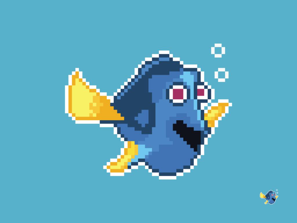 Dory (Finding Nemo) Pixel