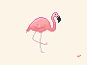 Flamingo Pixel