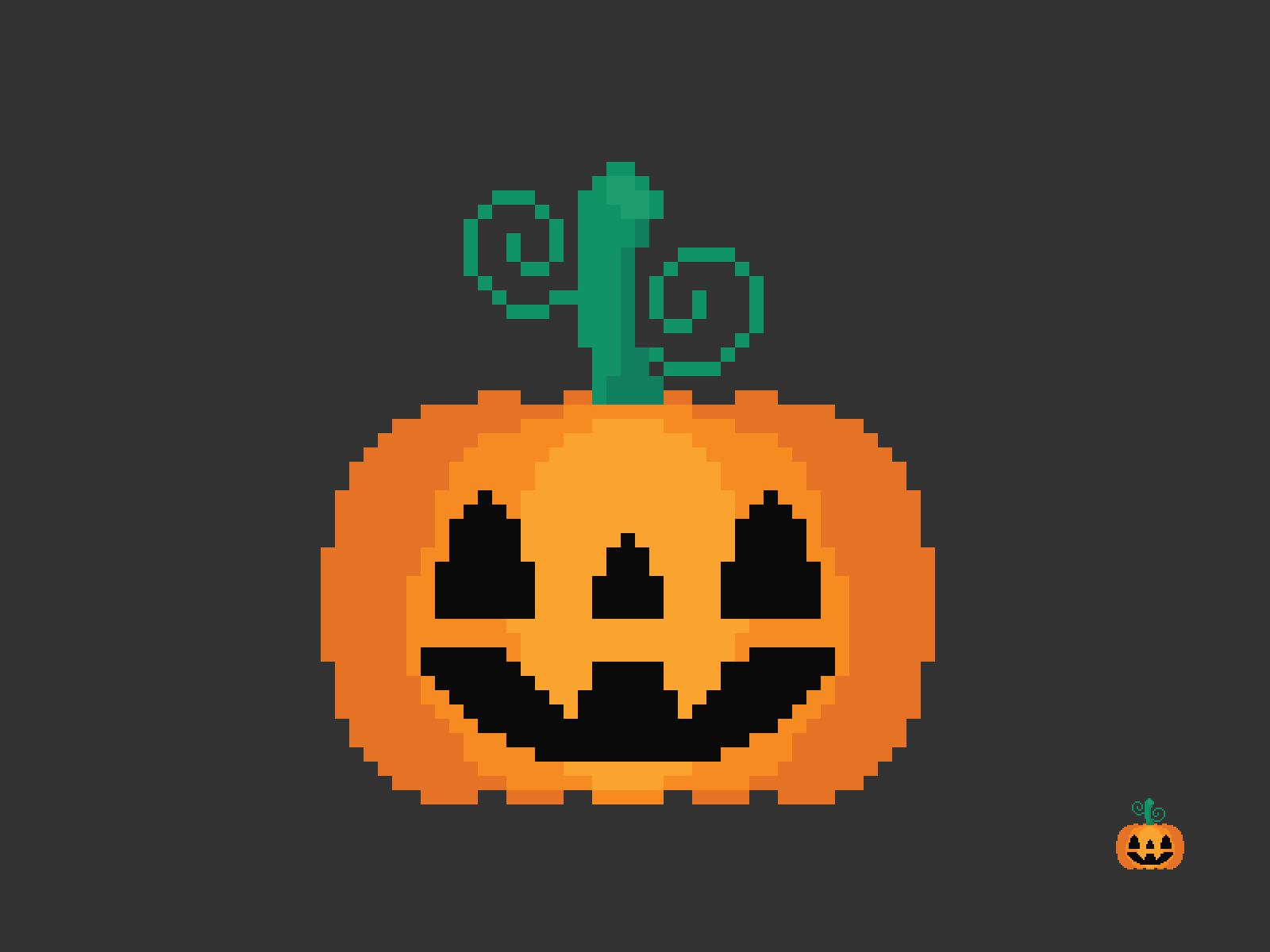 Jack O'Lantern Pixel