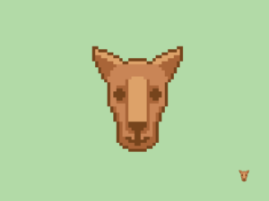 Kangaroo Pixel