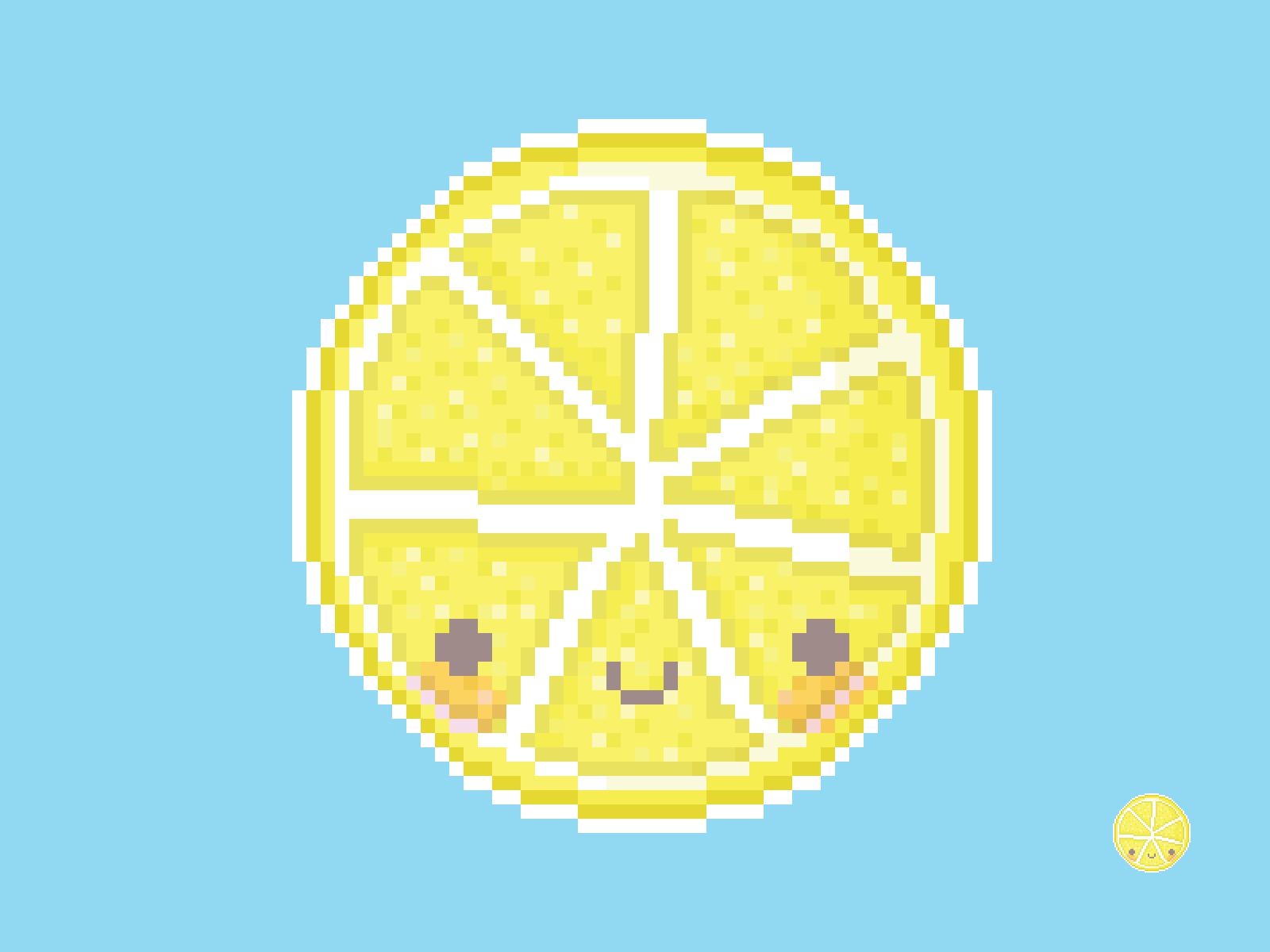 Lemon Slice Pixel