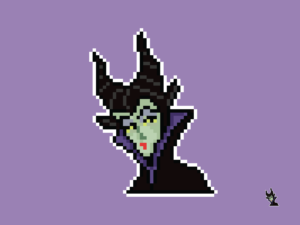 Maleficent Pixel