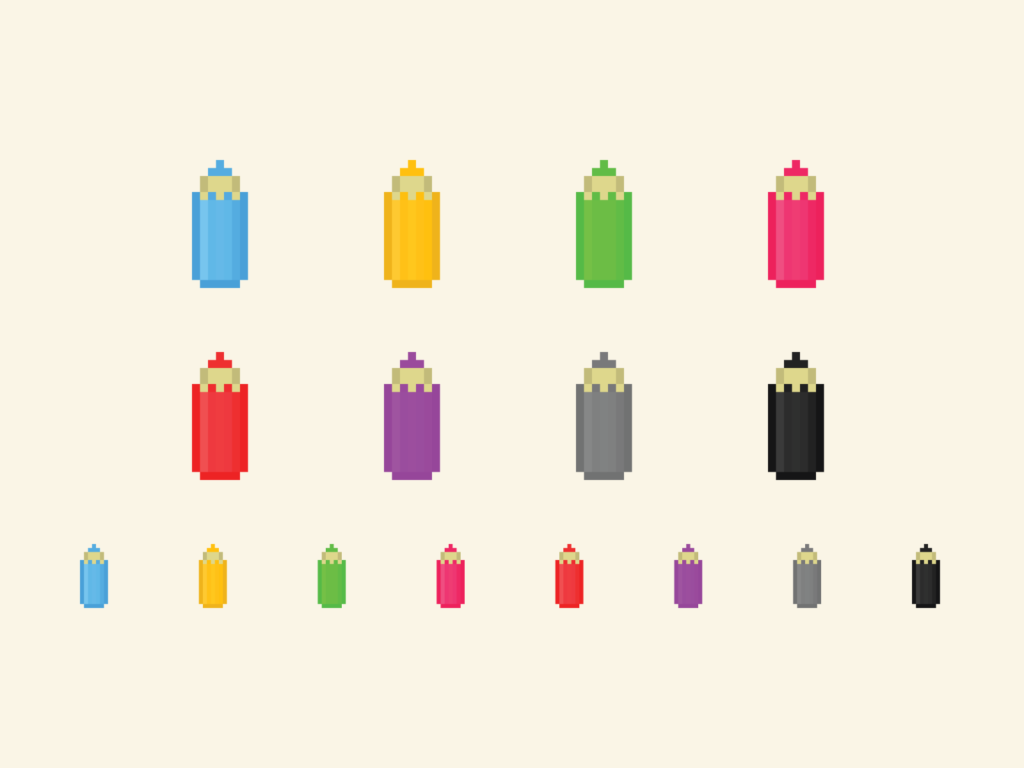 Pencils Pixel
