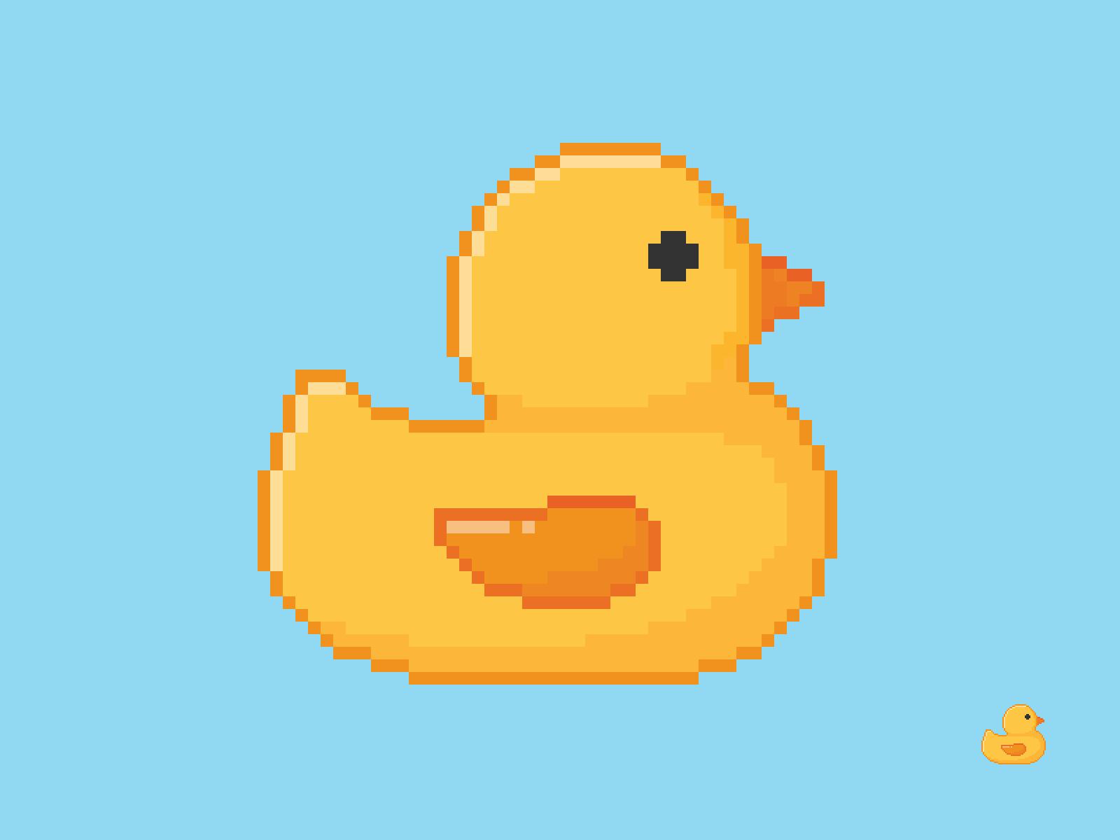 Rubber Duck Pixel