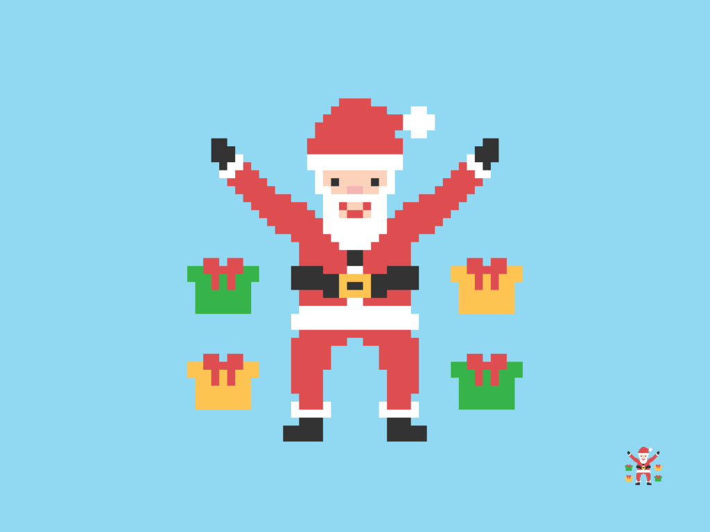 Santa Claus Pixel