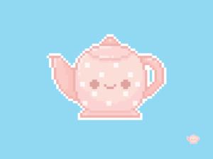 Teapot Pixel
