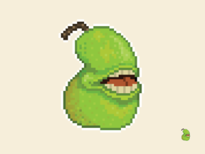 The Biting Pear of Salamanca Pixel