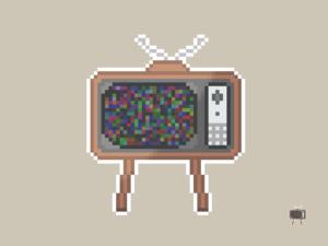 Vintage TV Pixel