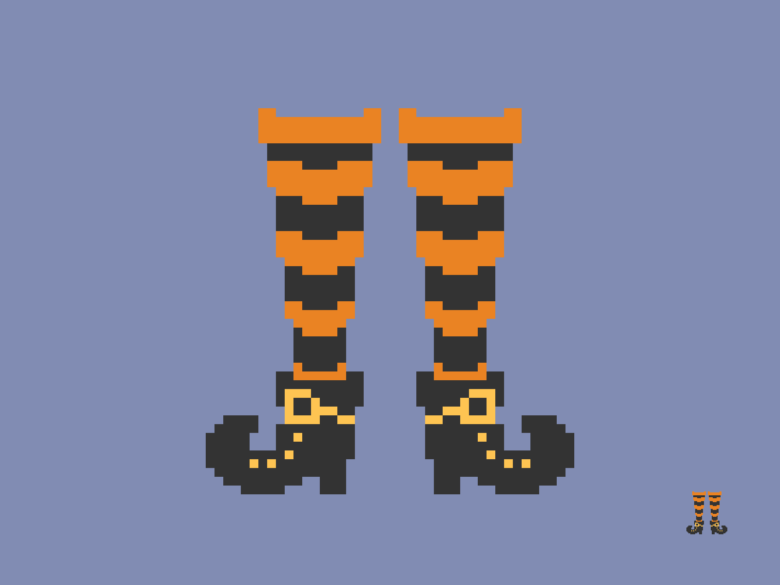 Witchy Feet Pixel