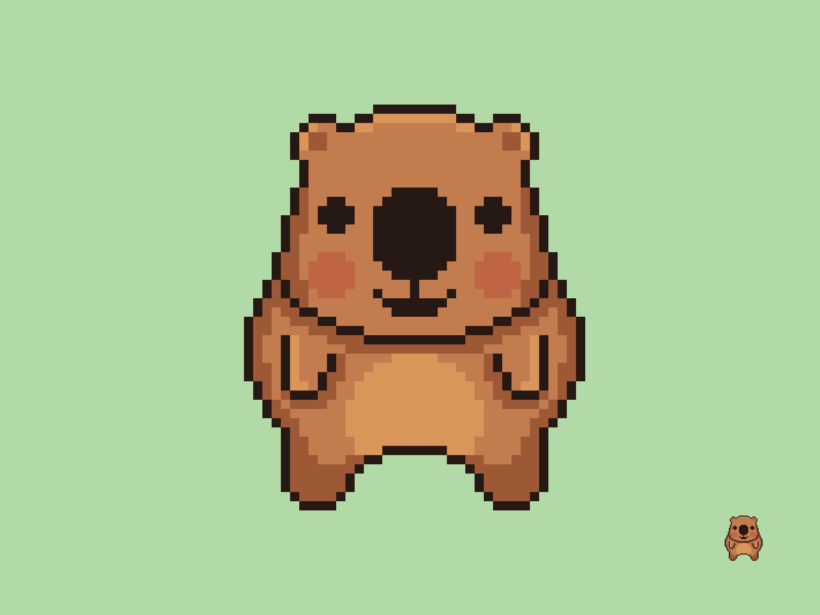 Wombat Pixel