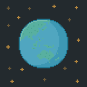 Pixel Earth