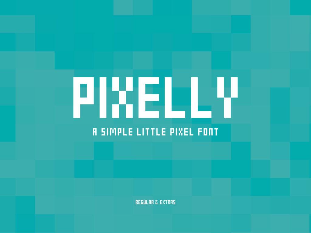 Pixelly Font