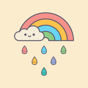 Cute Kawaii Rainy Days