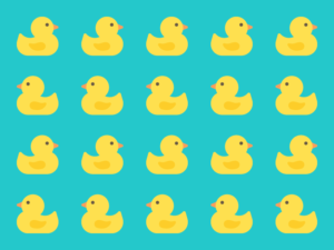 Cute Kawaii Rubber Ducks