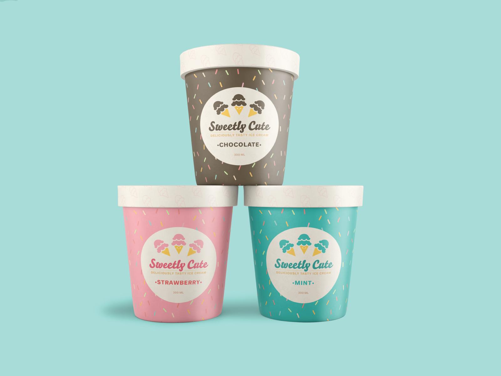 Sweetly Cute Ice Cream