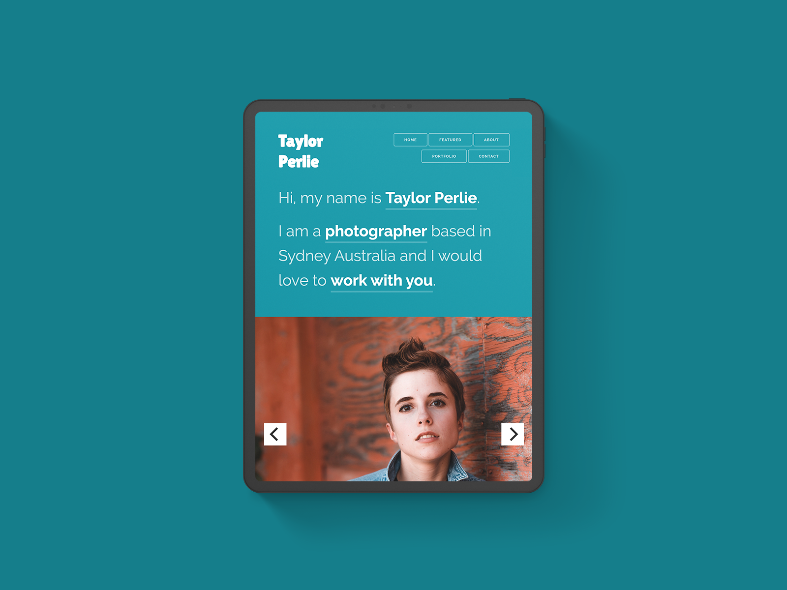 Taylor Perlie Website